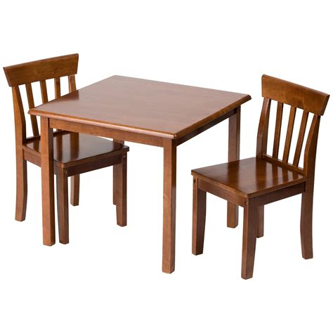 2 chair table set affordable brown wood table and 2 chairs set