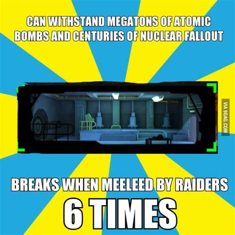 Fallout Shelter Memes - fallout shelter logic 9gag