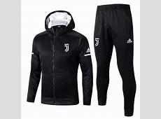 Survêtement Présentation à Capuche Juventus 20172018 Noir