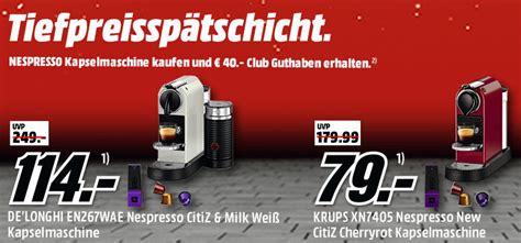 Krups Und Delonghi Nespresso Kapselmaschinen