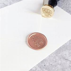 Siegelwachs Selber Machen : monstera wax seal crafting wachs wachs ~ Orissabook.com Haus und Dekorationen