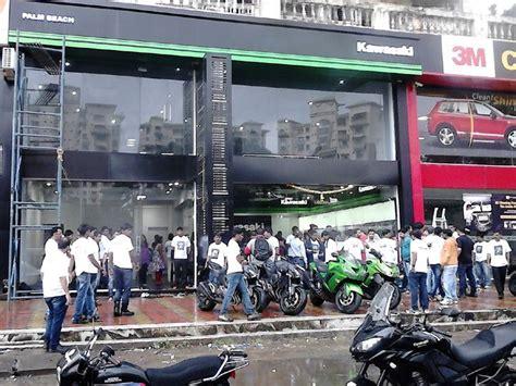 Kawasaki Motorcycle Dealership by Kawasaki Mumbai Dealership Inaugurated Zigwheels