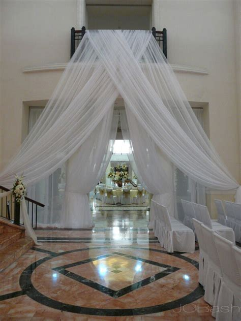 wedding sheer drapes wedding sheer drape 10 x114 quot white ivory black fushia