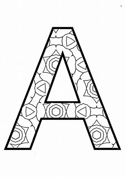 Coloring Alphabet Pages Instant