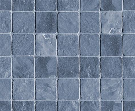 blue gray stone tile background seamless background