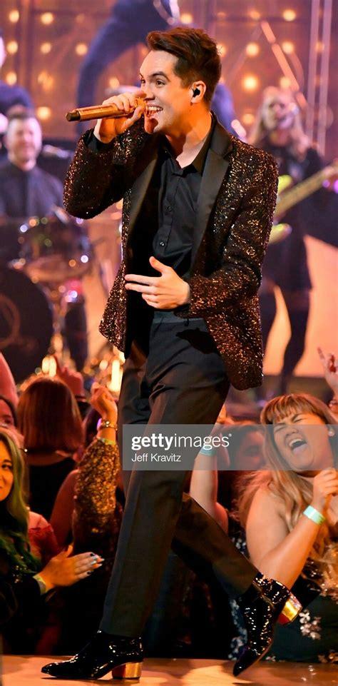 Brendon Urie | Black Sparkly Suit #Men's Fashion ...