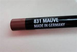 NYX 831 Mauve Slim Lipliner Pencil Review