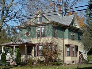 Late, Victorian, House, Colors