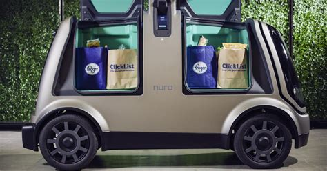 kroger nuro  test driverless grocery delivery  year