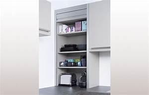 Rideau Coulissant Pour Meuble : meuble cuisine a rideau cuisinez pour maigrir ~ Teatrodelosmanantiales.com Idées de Décoration