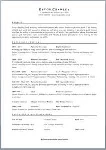 uk resume format cv template free cv exle