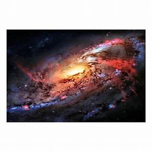Universe Space Galaxy Stars Nebula Landscape Silk Fabric ...