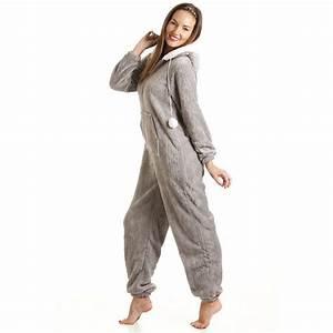 Combinaison Pyjama Homme Polaire : combinaison pyjama capuche en polaire ultra douce ~ Mglfilm.com Idées de Décoration