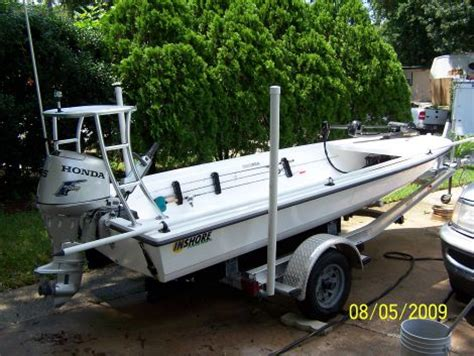 Used Flats Boats Jacksonville Fl by 2009 Inshore Power Boats 16 Flats Boat Fishing Boat For