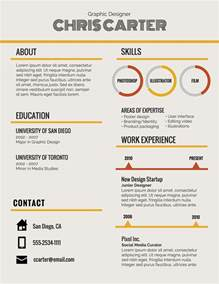 infographic resume html template infographic resume template venngage