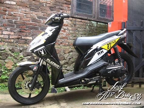 Modifikasi Motor Beat 2017 by 102 Modifikasi Beat Sederhana 2014 Modifikasi Motor Beat