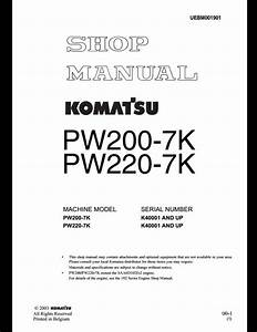Komatsu Pw200