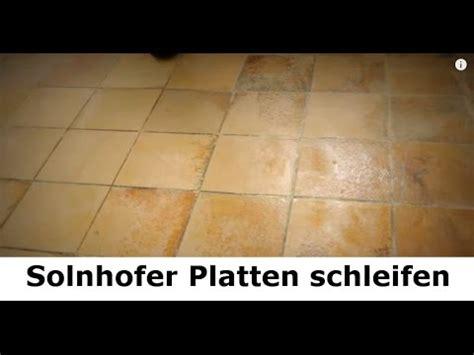 Alte Fliesen Aufbereiten by Solnhofer Platten Marmorboden Reinigen Schleifen