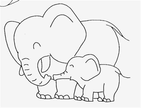 Elephant Template Baby Elephant Template Baby Elephant Coloring Pictures