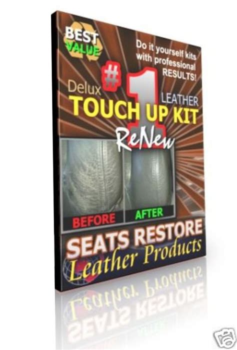 bmw sand beige leather seat color repair touch up kits
