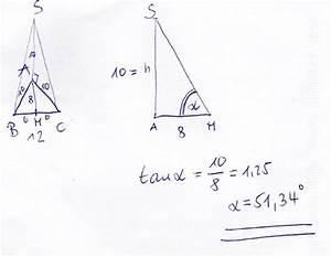 Gleichschenkliges Dreieck Berechnen Online : was ist ein neigungswinkel onlinemathe das mathe forum ~ Themetempest.com Abrechnung
