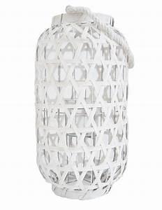 Große Laterne Windlicht : gro e laterne aus bambus in weiss 48 cm online kaufen heimkleid ~ Markanthonyermac.com Haus und Dekorationen