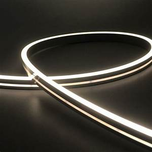 Small, Size, 6, 12mm, Side, View, Flexible, Led, Neon, Light, With, 100, Silicone