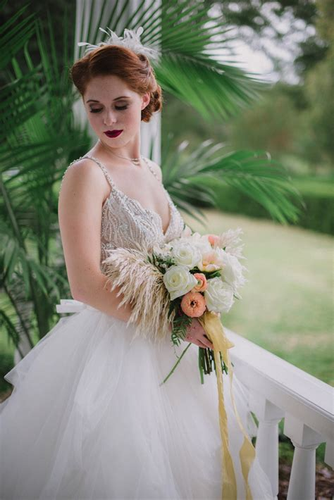 Rustic Gatsby Wedding Inspiration Deco Weddings