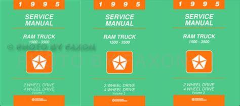 motor auto repair manual 1995 dodge ram 1500 electronic toll collection 1995 dodge ram 1500 3500 truck repair shop manual reprint