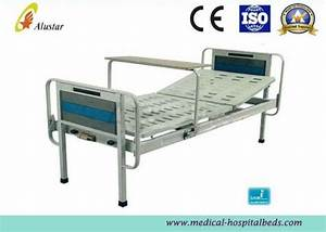Manual One Crank Backrest Medical Hospital Beds With