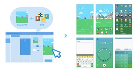 create your own tizen themes with the tizen theme editor