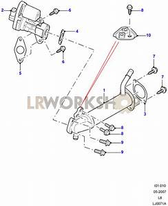 Exhaust Gas Recirculation - 2 4 Tdci