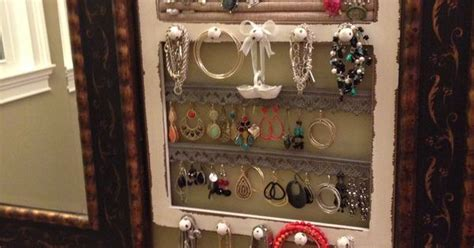 Jewelry Frame--hobby Lobby Or Diy! Turquoise Jewelry San Diego In Santa Fe Lyrics Baby Toronto Roswell Nm Men's Zales At Jcpenney Organizer