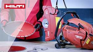 How To Change The Blade On Your Hilti Dsh 700  Dsh 900