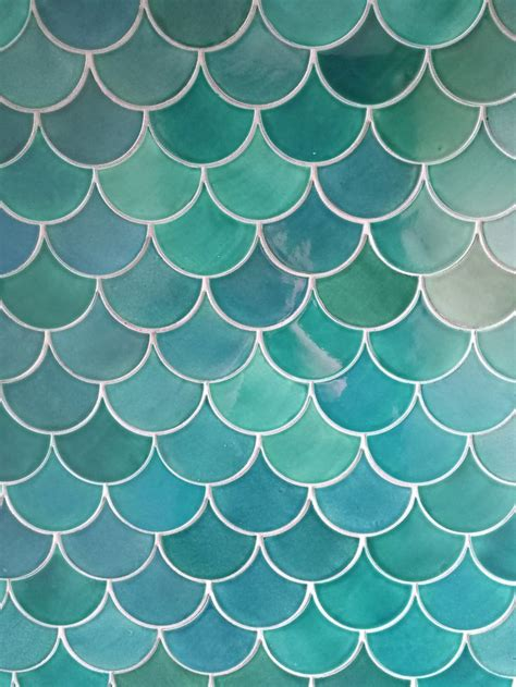 moroccan fish scale tiles  ways  incorporate
