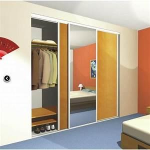 Rail De Placard : rails haut bas pour placard coulissant pico star 2 mantion ~ Premium-room.com Idées de Décoration