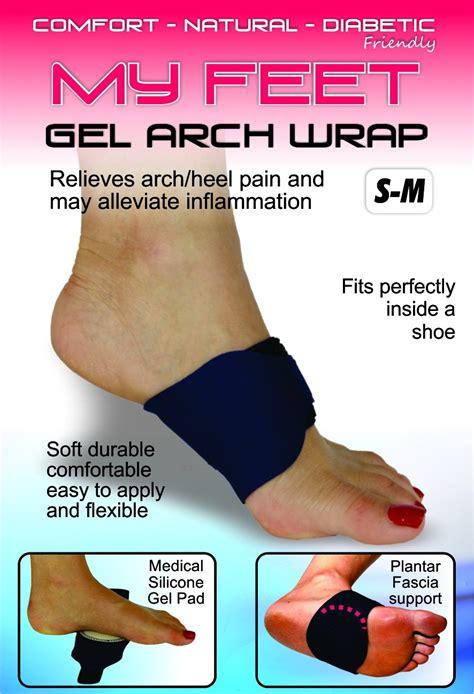 feet gel arch wrap