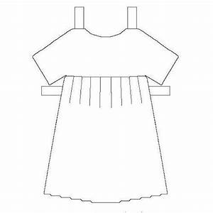 printable paper dolls clothes and accessories With dress a doll template