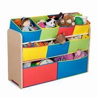 kids toy storage Amazon.com : Delta Children Deluxe Multi-Bin Toy Organizer ...