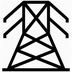 Electricity Tower Icon images