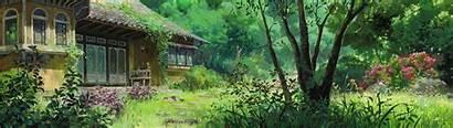 Ghibli Studio Desktop Arrietty Dual Wallpapers Screen