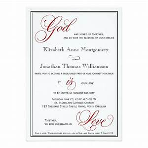 1000 images about christian wedding invitations on pinterest With samples of christian wedding invitations