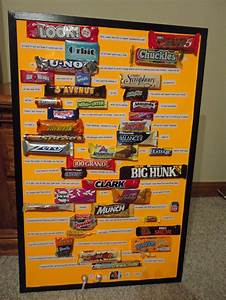 Congrats Grad Poster Graduation Card Made With A 23x34 Picture Frame And Candy