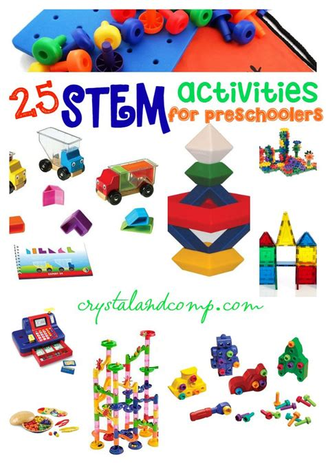 stem activities for 5th grade and up 165 | 25 STEM activities for preschoolers