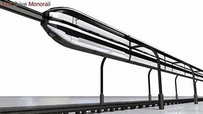 Monorail Drive Concept Eco Future Rail Sustainable
