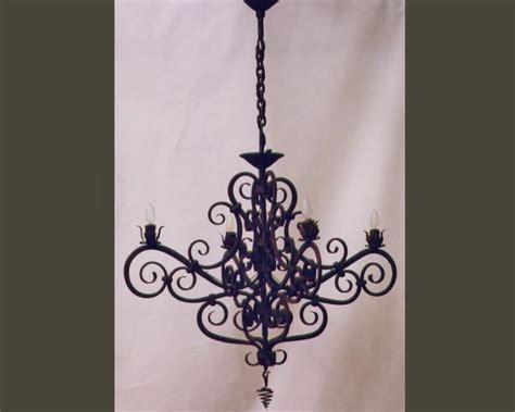 traditional chandelier lighting wrought