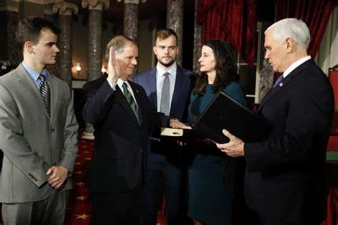 doug jones office staff democrats doug jones tina smith sworn into u s senate