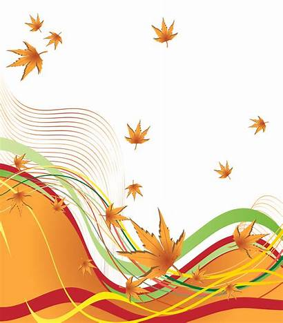 Border Autumn Clipart Decorative Decoration Borders Fall