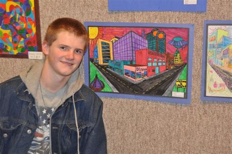 Middle School Art Show At Jailhouse Gallery Gallery
