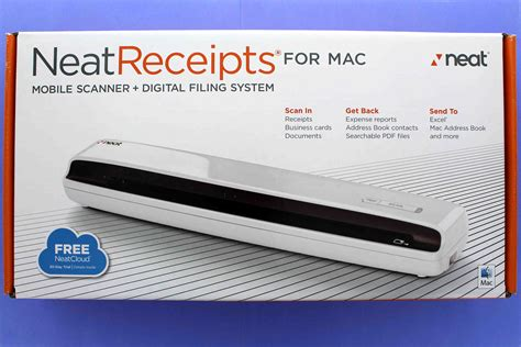 neatreceipts mobile scanner and digital filing system pc walmart